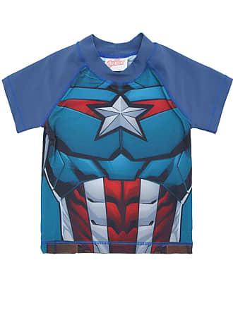 Tip Top Camiseta Tip Top Capitão América Azul-Marinho