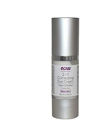 Now Foods NOW Solutions, Eye Cream, 2 in 1 Correcting to Tighten and Brighten the Eye Area, 1-Ounce