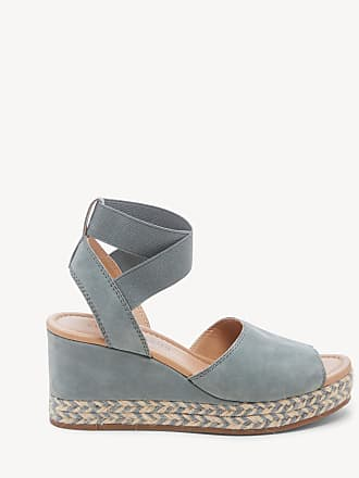 Lucky Brand Womens Bettanie Platform Wedges Cloud/cloud Natural Size 9 Leather From Sole Society