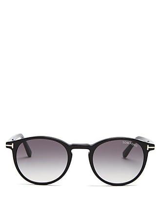 73ceb1fe23e Tom Ford Eyewear Eric Round Frame Sunglasses - Mens - Black