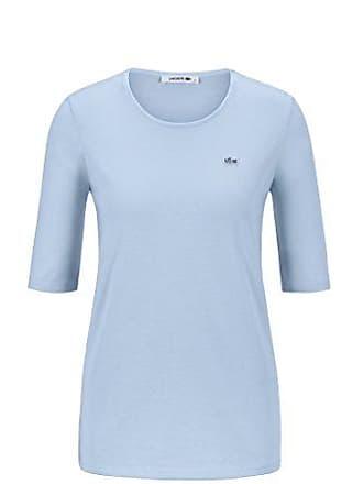 Lacoste TF8065 Klassisches Damen Basic T-Shirt, Rundhals, 3 4 Arm, de8f1cfb51