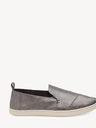 204f7690435 Toms Womens Deconstructed Alpargata Espadrille Slip On Pewter Size 10  Textile From Sole Society