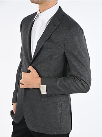 Corneliani virgin wool side vents 2-button GATE blazer size 52