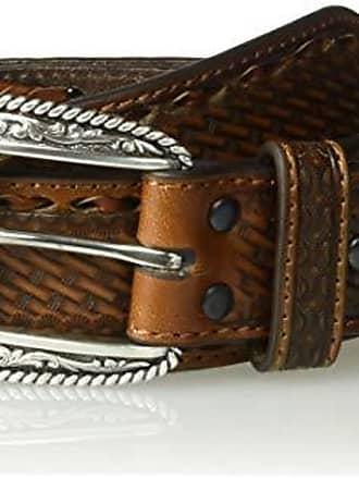 Ariat Men/'s Straight Oak Taper Belt