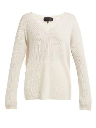 Nili Lotan Elana Cashmere Sweater - Womens - Ivory