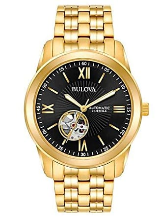 Bulova Relógio Bulova Masculino Ref: Wb32004u Automático Dourado