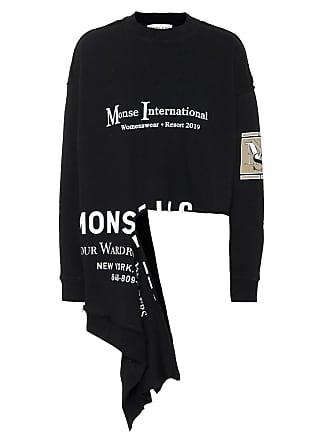 Monse Asymmetric cotton sweatshirt