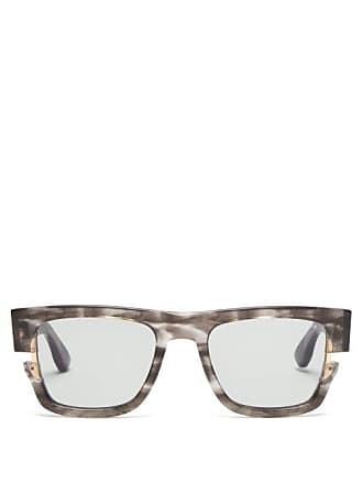 91e4e52e1025 Dita Eyewear Sekton Square Acetate Sunglasses - Mens - Grey Multi