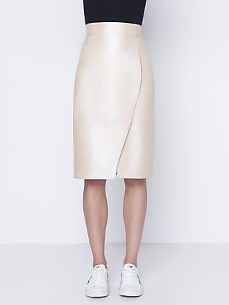 Akris Pencil skirt in lamb nappa leather