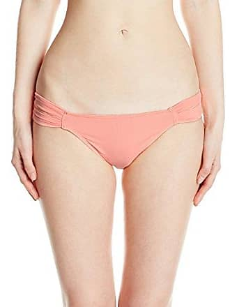 a51e5642ddc39 O'Neill Womens Salt Water Solids Tab Side Bikini Bottom, Peach/PCH,