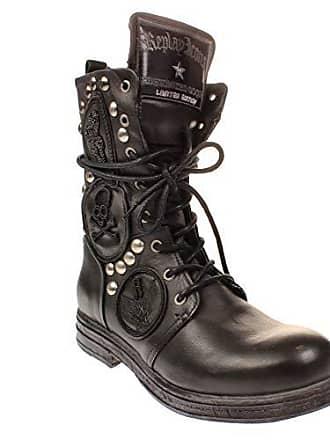 50ba495afdfeb1 Replay RL260058L Evy - Damen Schuhe Biker-Boots Stiefel - 003