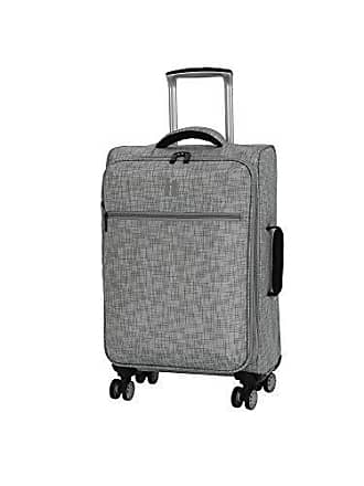 IT Luggage 21.5 Stitched Squares Lightweight Case, Flint Grey