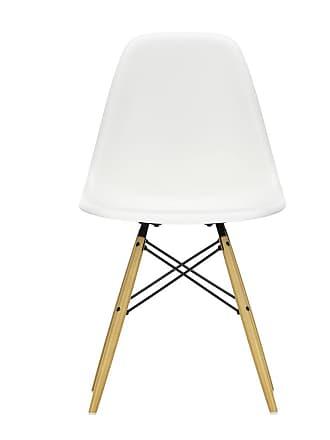 Vitra DSW Plastic Side Chair Golden Maple