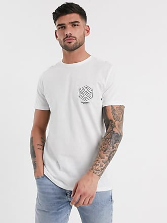 New Look Camiseta blanca con estampado en el pecho California de New Look-Blanco