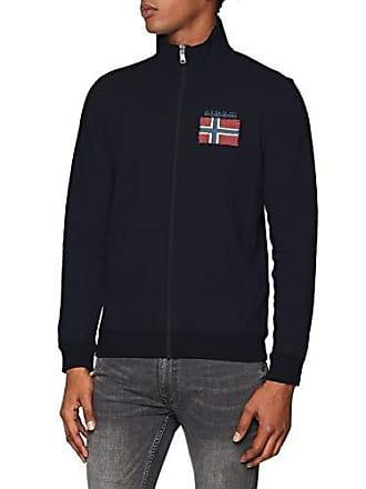 21ff7d0261e6 Napapijri N0YHWK - Sweat-shirt zippé- Homme - Bleu (Blu Marine 176)