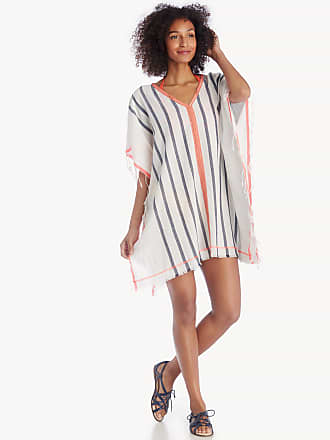 Sole Society Womens Stripe Cover Up Multi One Size Cotton Poly From Sole Society