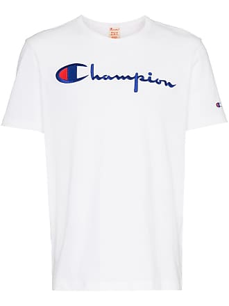 Champion logo embroidery t-shirt - White