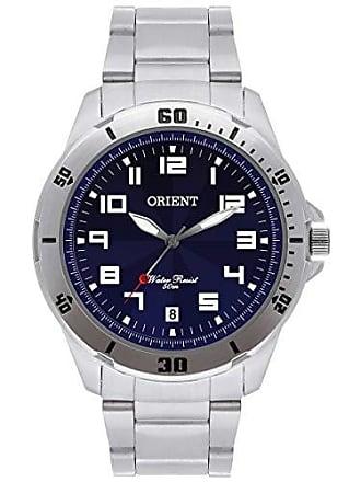 Orient Relógio Orient Masculino Analógico - Prata/Azul - MBSS1155A D2SX