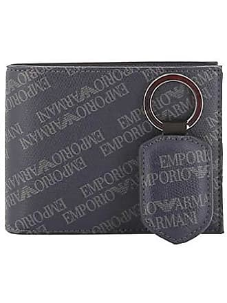 Emporio Armani Herren Herren-Geldbörse Blau blau Einheitsgröße e5c41e1b01