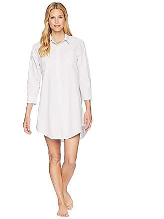 741c520c0d Ralph Lauren Essentials Striped His Shirt (Grey Stripe) Womens Pajama