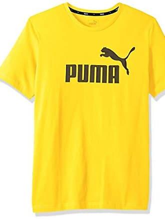 e254baff8b9 Puma Mens Essential No. 1 Logo Tee, Blazing Yellow XX-Large