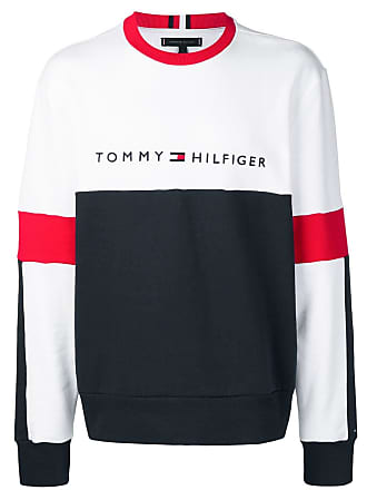 c383408863468c Tommy Hilfiger logo embroidered sweatshirt - Blue