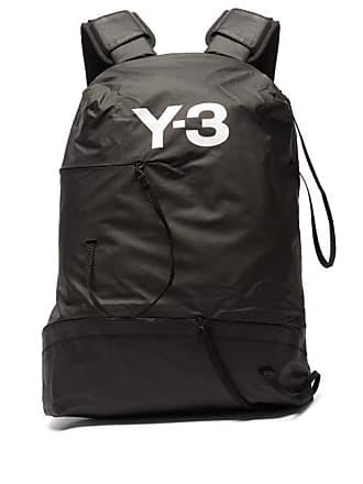 Yohji Yamamoto Bungee Technical Backpack - Mens - Black