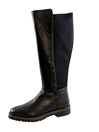 e35c8756bd3463 Marc Jacobs Marc 73303, Bottes Hautes Femme - Noir - Schwarz (Cow Crust-