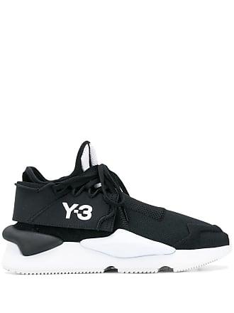 Yohji Yamamoto black and white kaiwa sneakers