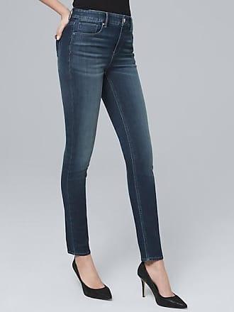 White House Black Market Womens High-Rise Sculpt Fit Skinny Ankle Jeans by White House Black Market, Medium Wash, Size 10 - Regular