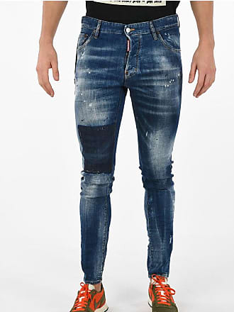 Dsquared2 16cm Printed COOL GUY Jeans Größe 54