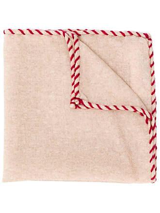 Brunello Cucinelli scarf with stitch detail - Neutro