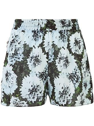 Fleur du Mal floral print shorts - Blue
