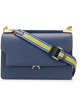Marni Trunk shoulder bag - Blue