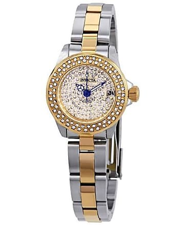 Invicta Angel Crystal Gold Dial Ladies Watch 28455