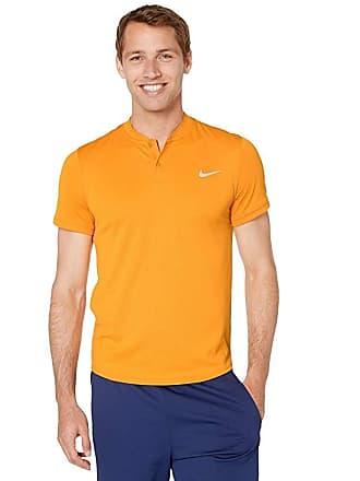 64477d24 Nike NikeCourt Dry Polo Blade (Canyon Gold/Canyon Gold) Mens Clothing