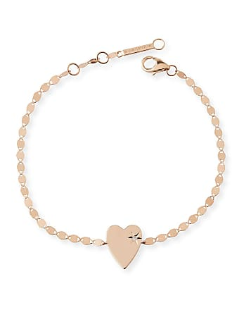 Lana Jewelry 14k Petite Heart Bracelet w/ White Diamond