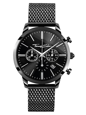 Thomas Sabo Thomas Sabo mens watch black WA0291-287-203-42 MM