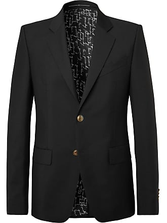 Givenchy Black Slim-fit Wool And Mohair-blend Blazer - Black