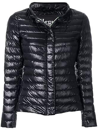 Herno high neck padded jacket - Black