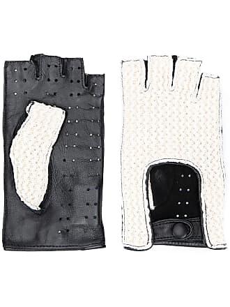 Gala Gloves Par de luvas Driving sem dedos - Preto