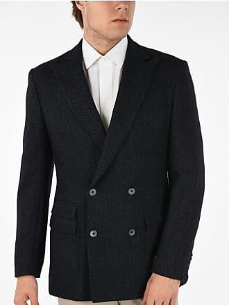 Corneliani Tweed Double Breasted Blazer size 50