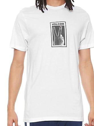 Volcom Camiseta Volcom Silk Slim Peace Branco