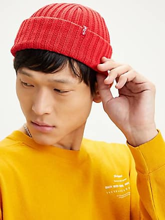 Levi's Ribbed Beanie Rouge / Brilliant Red