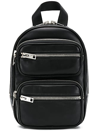 Alexander Wang double-zipped backpack - Preto