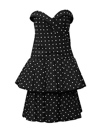 7adeb3841b2 Dior 1980s Cd De Christian Dior Black And White Polka Dot Cocktail Dress