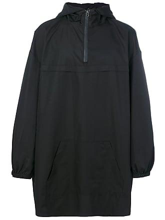 Yuiki Shimoji Casaco oversized com capuz - Preto