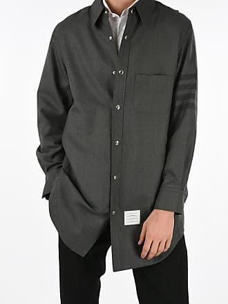 Thom Browne camicia con bottoni automatici taglia 3