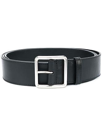 Alexander McQueen buckled belt - Black