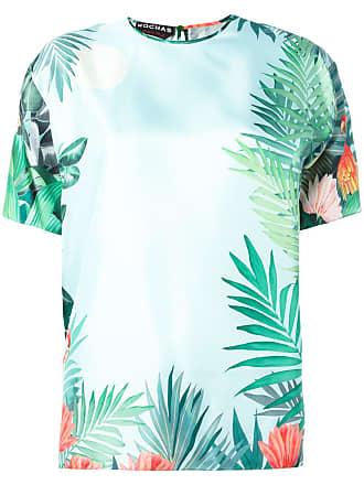 Rochas Blusa de seda com estampa floral - Verde